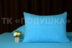 Купить голубые махровые наволочки на молнии в Красноярске