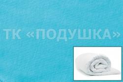 Купить голубой трикотажный пододеяльник в Красноярске